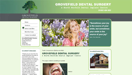 Grovefield Dental Surgery Before & After