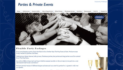 Parties & Private Events Venue Homepage