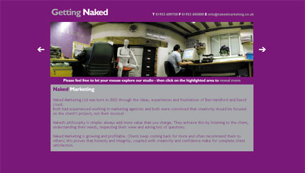 Naked Marketing Homepage