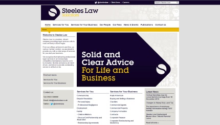 Steeles Law Homepage